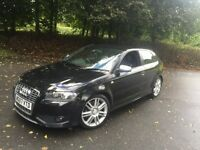 AUDI S3 2.0 TFSI 12 MONTH M.O.T FULL AUDI HISTORY £6695 PX WELCOME