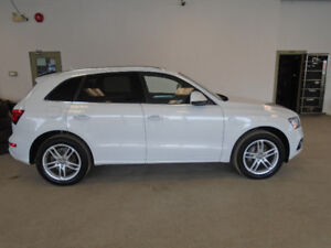2015 AUDI Q5 S-LINE 2.0T! WHITE ON BLACK! MINT! ONLY $24,900!!!!