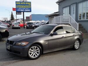 2006 BMW 325xi AWD SEULEMENT 153000KM INT*CUIRE*ROUGE*WOW*
