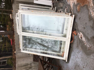 Windows and trim for sale