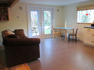 Furnished one bedroom suite for rent