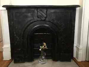 Antique Granite Fireplace For Sale
