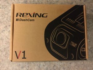 "NEW Rexing V1 Car Dash Cam 2.4"" LCD FHD 1080p 170 Deg Wide Angle"