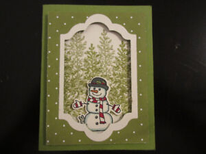 Frosty the Snowman Card Class