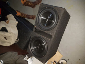 Dual Phoenix Gold R212 subs in ported box