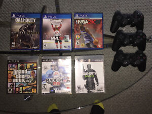 CHEAP PS3 Games + Controllers/ PS4 Games