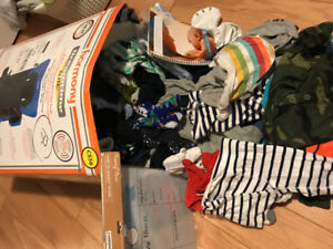 Baby boy clothing 3 months -4t extra large box  $40.00 obo