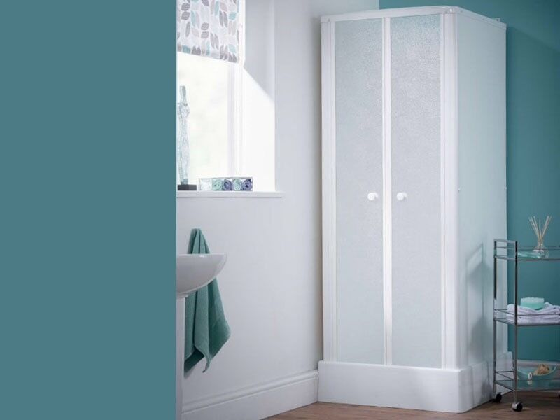 Self contained shower cubicle - Saniflo Kinedo 700mm X 700mm BRAND ...