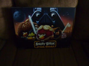 For Sale - Angry Birds Star Wars Poster - Perma Placqued