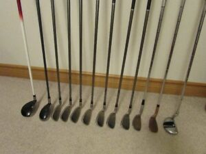GOLF CLUBS-COMPLETE (almost) SET!