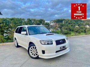 2006 Subaru Forester MY06 CROSS SPORT SG 5 White Automatic Wagon Mordialloc Kingston Area Preview
