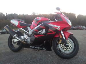 2001 Honda CBR929 Red/Black/White
