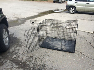 """""""Unleashed"""" durable dog crate"""