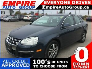 2006 VOLKSWAGEN JETTA 2.5 L * SUNROOF * ALLOY WHEELS * EXTRA CLE