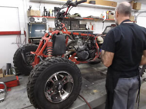 Experienced Service For All Honda ATV'S Moose Jaw Regina Area image 15