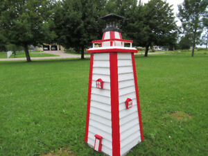 Hand crafted solar light houses