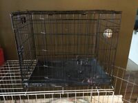Small dog or cat cage crate