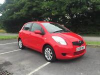 Toyota Yaris 1.3 VVT-i TR 2008 lovely example finance arrange from £25 per week