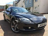 Mazda rx8 nemesis black white leather seays