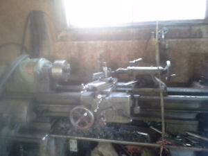 3 foot metal lathe