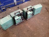 Bell and Howell 1698 + 1695 Film Projectors
