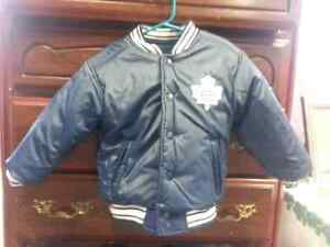 Pair of Maple Leafs Coats One Adult , One Child ! Cambridge Kitchener Area image 7