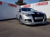 2010 10 RENAULT MEGANE 1.4 TCe ( 130bhp ) DYNAMIQUE TOM TOM WITH GT LINE BODYKIT
