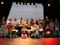Cours de percussions africaines