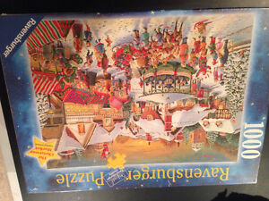 PUZZLE BRAND NEW-CHRISTMAS MARKET