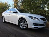 2008 Mazda6 2.0 (147ps) TS 5dr, Crystal White, MOT 11/2017, Just been serviced