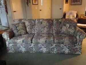 Chesterfield & Wing Chair Kawartha Lakes Peterborough Area image 1