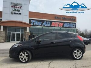2012 Ford Fiesta SES  LOCAL TRADE, ACCIDENT FREE, LEATHER HEATED