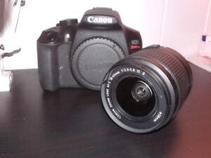 Canon EOS Rebel T6, in perfect conditions, barely ever used.