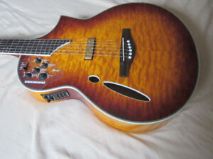 Ibanez Montage!  A Super  Acoustic and Electric!