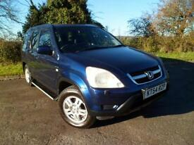 HONDA CR-V 2.0 SE SPORT 4x4 FSH 2 OWNERS FROM NEW, Blue, Manual, Petrol, 2004