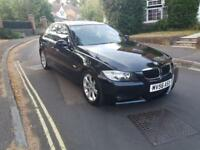 2006 BMW 320 2.0D M SPORT 4 DOOR SALOON BLACK MANUAL 3 OWNERS