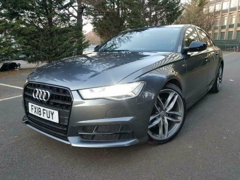 2018 Audi A6 Saloon 20 Tdi Ultra Black Edition S Tronic Ss 4dr In