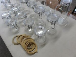 Glass Storage Jars