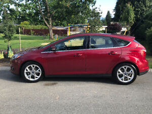 2013 Ford Focus Platinum Hatchback *inc. 2-3 Maintenance package