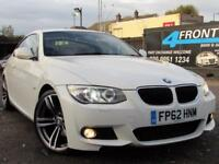 2012 BMW 3 SERIES 320D M SPORT COUPE 6 SPEED MANUAL DIESEL COUPE DIESEL