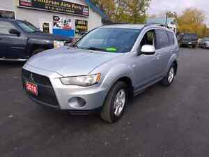 2010 mitsubishi outlander 4cyl FWD certified etested