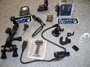 GoPro by Hero 3 Black Edition CAMERA with handlebar mount kit Stratford Kitchener Area image 1