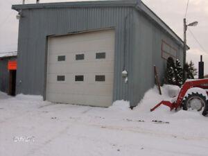 garage équipement agricoles
