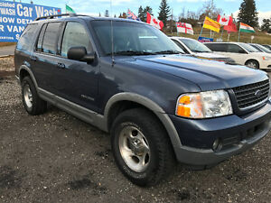 2002 Ford Explorer XLT 4x4 SUV, Crossover