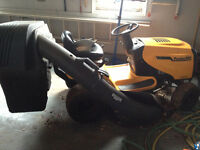 Poulain Pro tractor mower