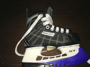 Kids Size 12 Bauer Hockey Skates