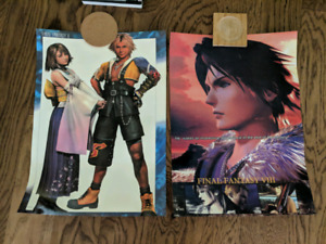 Final Fantasy Videogame Posters