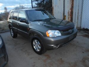 2002 Mazda Tribute Auto AWD V6 3.0L Only 105000KMS