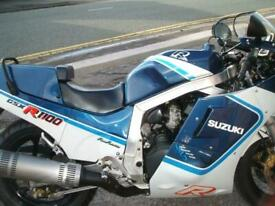 Suzuki GSX-R1100 H 1987 Slabside Only 15k Miles Excellent Original Condition
