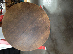Antique Wood Dining Table for sale